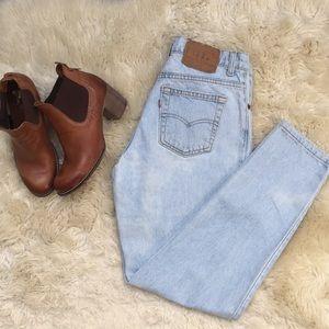 Vintage Levis 'Mom' jeans. Women's 6.